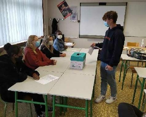 classe de 3 prépa métiers : élection des délégués
