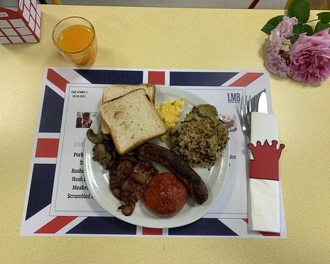 English breakfast en CAP ATMFC 2