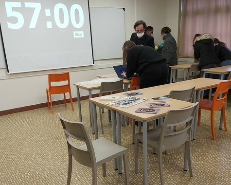 Un Escape Game  en CAP ATMFC