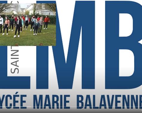 Jerusalema Challenge / au Lycée Marie Balavenne