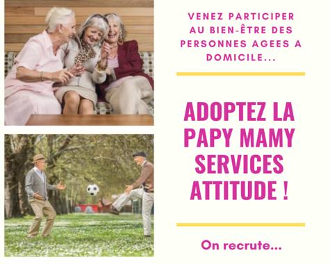 Services aux personnes âgées à domicile - Papy Mamy Services