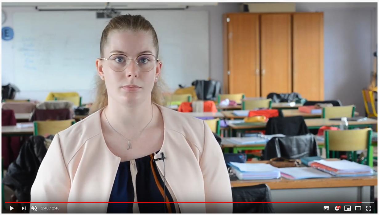 video : aline, cap aepe : accompagnant educatif petite enfance au lycee marie balavenne a saint-brieuc