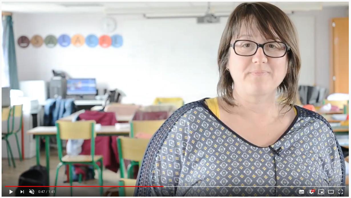 video :madame magre, professeur en enseignement professionnel au lycee marie balavenne a saint-brieuc