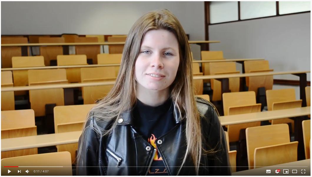 Vidéo : Marine, BAC Pro SPVL Services de Proximité et Vie Locale au Lycée Marie Balavenne à Saint-Brieuc 0