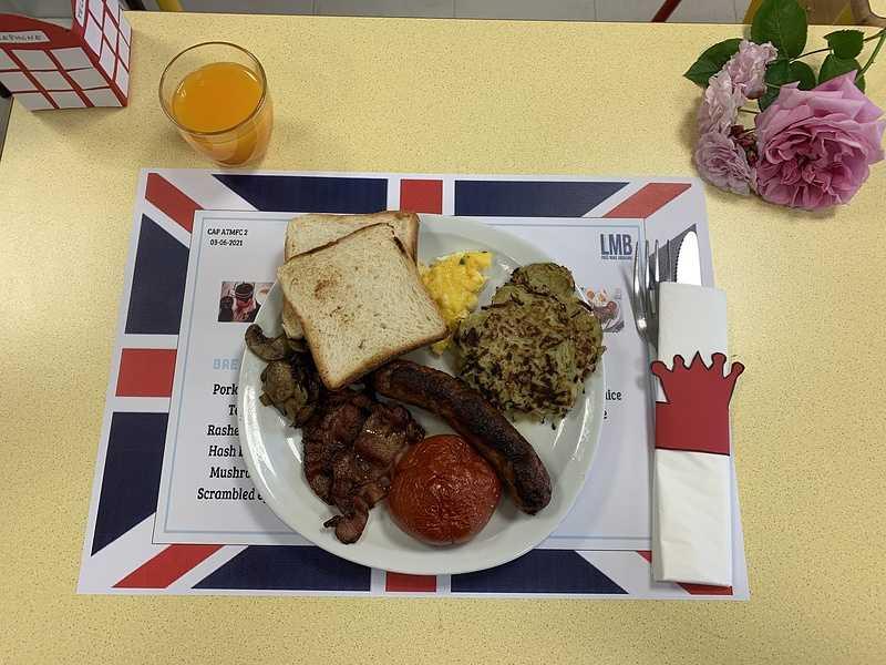 English breakfast en CAP ATMFC 2 0