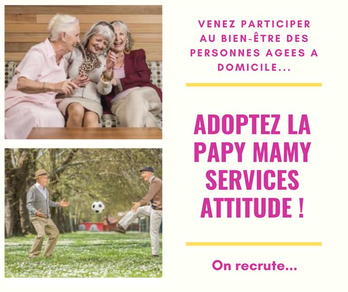 Services aux personnes âgées à domicile - Papy Mamy Services 0